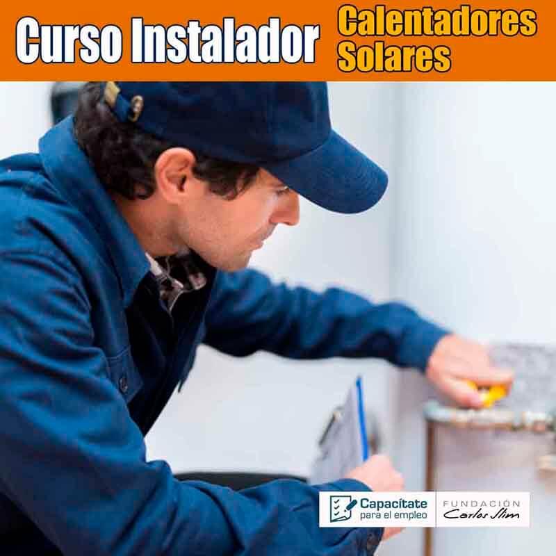 Curso instalación de calentadores solares