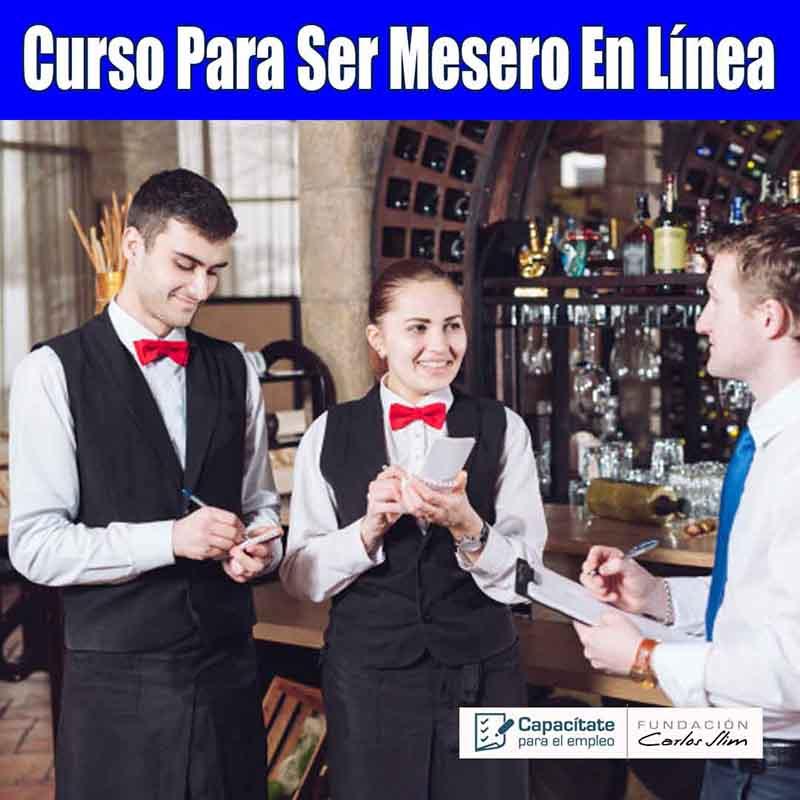 Curso de Mesero En Mexico