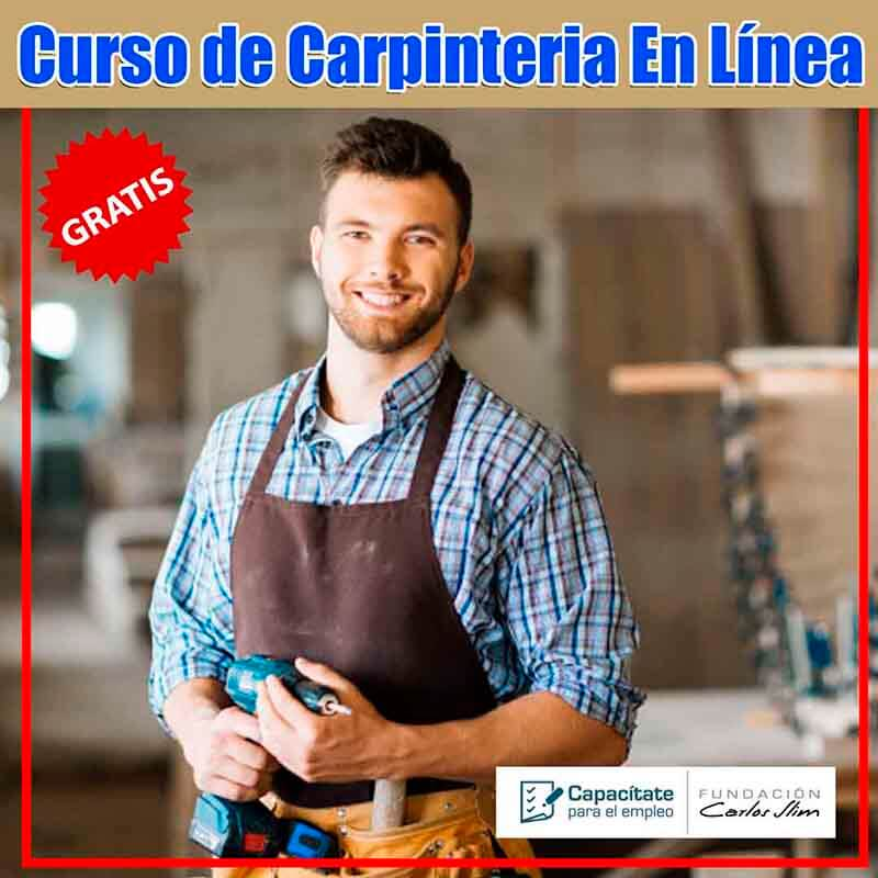Curso de Carpintería gratis