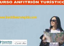 CURSO ANFITRIÓN TURISTICO