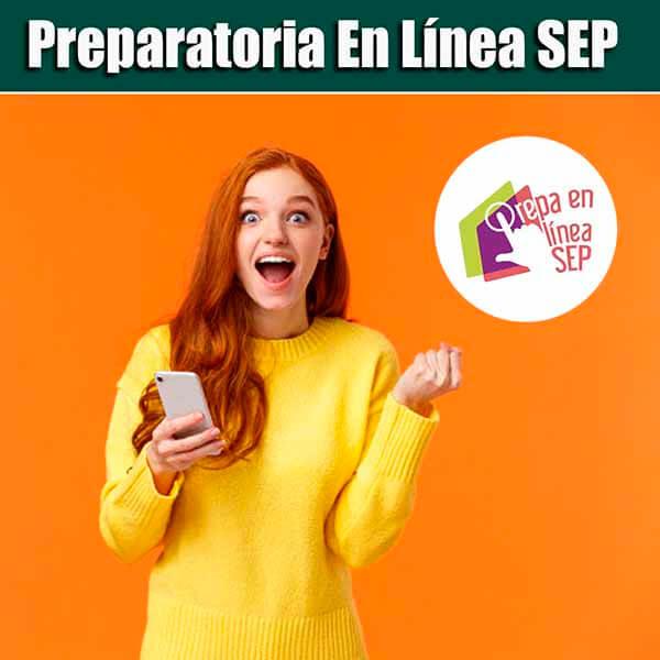 Convocatoria de Prepa en Linea SEP.